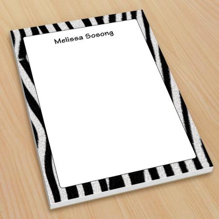 Zebra Pattern Small Note Pads