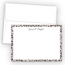 Snow Leopard Correspondence Cards