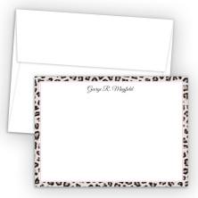 Snow Leopard Correspondence Cards