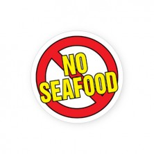 No Seafood Labels for Allergies