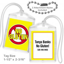 Allergy Gluten Mini Tag