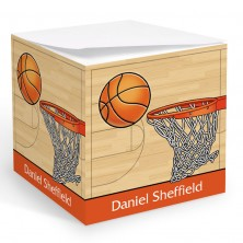 Basketball Memo Cube