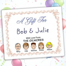 Beginnings Family Gift Label