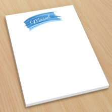 Blue Watercolor Small Note Pads