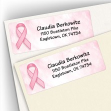 Breast Cancer Address Labels