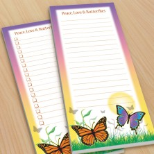 Butterflies Sun To-Do Pads