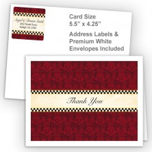 Checkers 2 Thank You Card Package