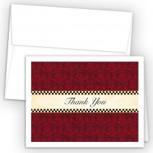 Checkers Thank You Cards