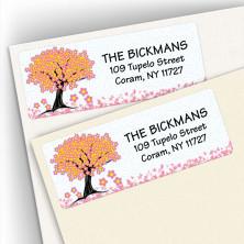 Cherry Blossom Address Labels