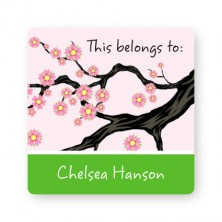 Cherry Blossom Property ID Labels
