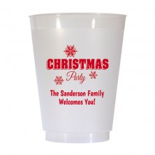 Christmas Cup Design 11 16 oz Personalized Christmas Party Cups