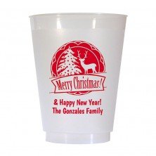 Christmas Cup Design 14 16 oz Personalized Christmas Party Cups