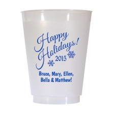Christmas Cup Design 15 16 oz Personalized Christmas Party Cups