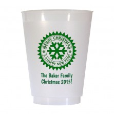 Christmas Cup Design 19 16 oz Personalized Christmas Party Cups