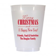 Christmas Cup Design 20 16 oz Personalized Christmas Party Cups