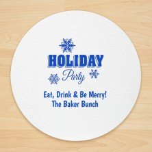 Christmas Design 12 Personalized Christmas Coasters