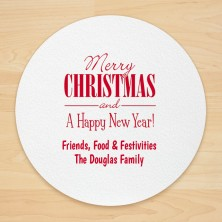 Christmas Design 20 Personalized Christmas Coasters