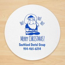 Christmas Design 21 Personalized Christmas Coasters