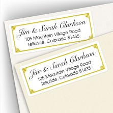 Classic Address Labels Design 17