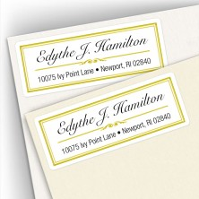 Classic Design 16 Address Labels