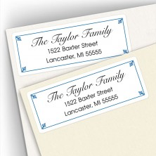 Classic Design 2 Address Labels