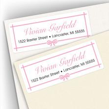 Classic Design 6 Address Labels