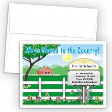 Country Move Moving Card