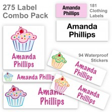 Cupcakes Label Combo Pack