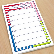 Directional Stripes 2 Organizer Pads