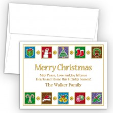 Elements Merry Christmas Holiday Cards