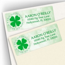 Erin Go Bragh Address Labels