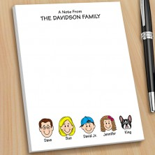Family Note Pads - Small