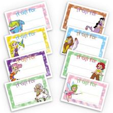 Fantasy Gift Labels