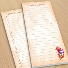 Flowers Watercolor To-Do Pads