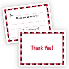 Generic Boy Fill-In Thank You Cards