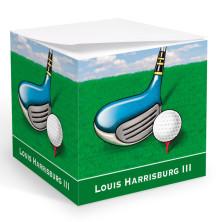 Golf 3 Memo Cube