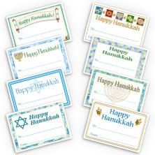 Happy Hanukkah Gift Labels