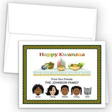 Candles 2 Kwanzaa Cards