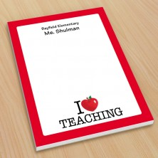 I Heart Teaching Small Note Pads