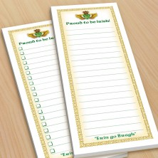 Irish Claddagh To-Do Pads