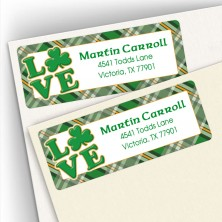 Irish Love Address Labels