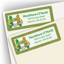 Irish Luck Address Labels