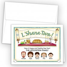 L'Shana Tova Rosh Hashanah Cards