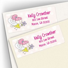 Little Fairy Address Labels