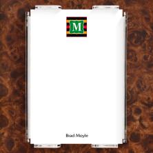 Monogram 12 Note Sheet Set