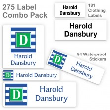 Monogram 16 Label Combo Pack