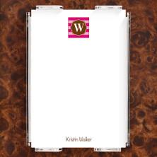 Monogram 18 Note Sheet Set