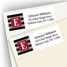 Monogram Address Label 5