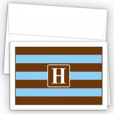 Monogram Fold Over Note Cards 8