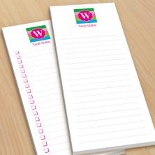 Monogram List Pad 15 - With Magnets